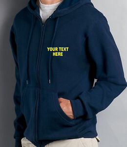 Zip-Up-Hoody-Personalised-Custom-Printed-Hoodies-Work-Wear-S-XXL