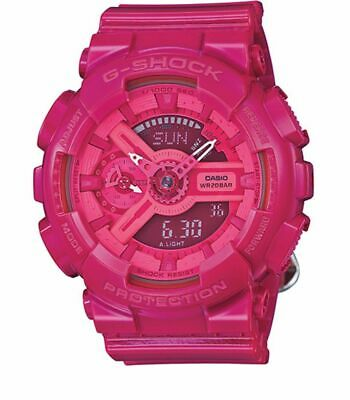 NEW Casio GMA-S110CC-4A Womens Pink G-SHOCK Hyper Colors Ana-Digital Watch 200M  G-shock 200m World Time Watch