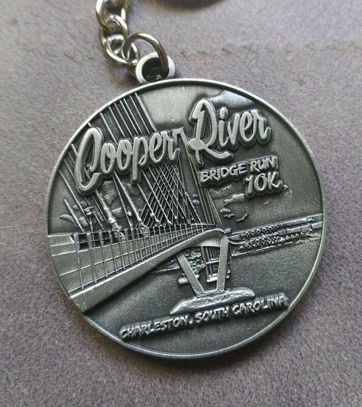 Cooper River Bridge Run 10K Keychain Charleston South Carolina