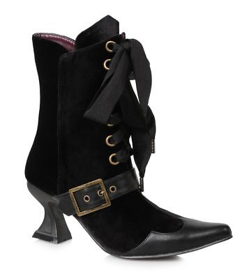ocus Witch Edwardian Cosplay Costume Shoes Boots Womans (Hocus Pocus Cosplay)