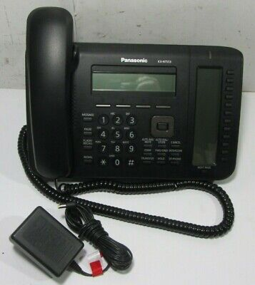Panasonic Kx-nt553 Ip Phone - Wiredwireless -wall Mountable Telephone Charger