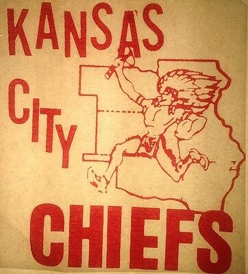 футболки Vintage 1968 Kansas City Chiefs
