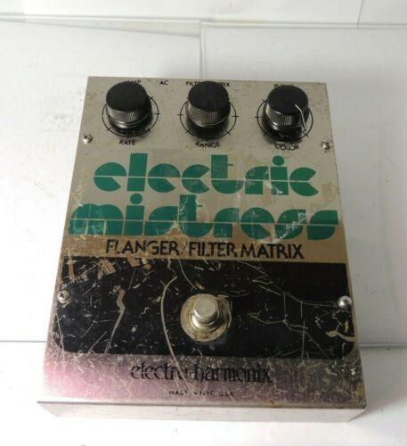 Vintage 1979 Electro Harmonix Electric Mistress Flanger/Filter Matrix FX Pedal