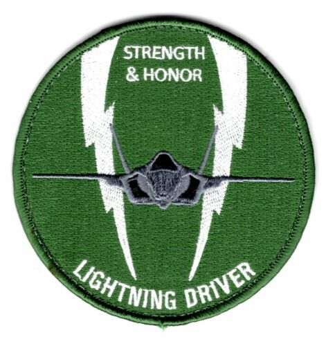 USAF PATCH AIR FORCE 307 FIGHTER SQ F – 35 W/VELKRO