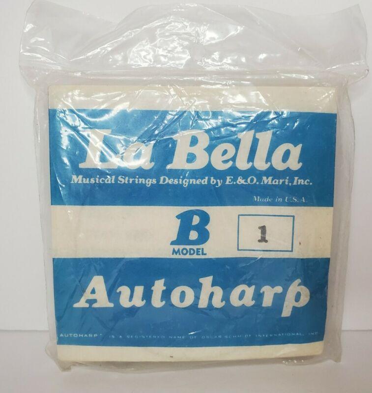 E&O Mari LaBella Autoharp Strings Model B One 1 - 14 AU-2000 see photos SEALED