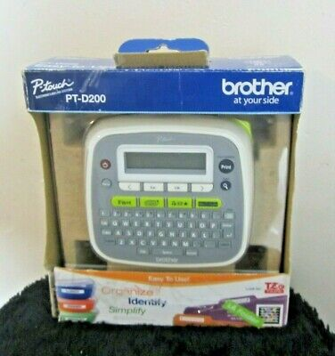 Brother P-touch Pt-d200 Label Maker Printer Home And Office Equipment