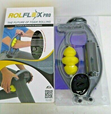 Rolflex PRO Edition Leverage Foam Roller - w/Dual Stability Rollers DSR - Best