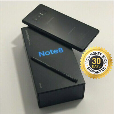 SAMSUNG GALAXY NOTE 8 SM-N950U 64GB BLACK VERIZON AT&T T-MOBILE FULLY UNLOCKED