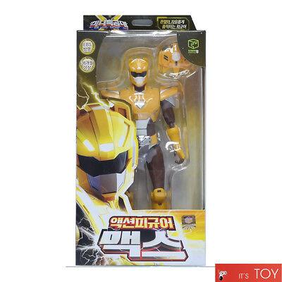 MINIFORCE X MAX Yellow Action Figure Set Mini Force Super Ranger SONOKONG 2018