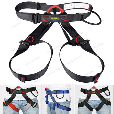 Outdoor Sports Climbing Caving Safety Harness Adults Sit Waist Belt Safe Strap