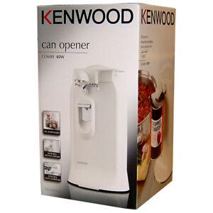 Kenwood Electric Can Tin Bottle Opener Knife Sharpener 3-in-1 CO600