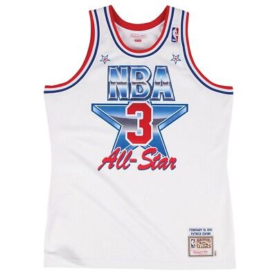 Patrick Ewing 1991 NBA All Star East Mitchell & Ness Authentic Home Jersey Men's