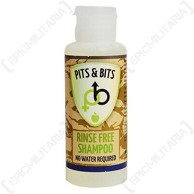 Wasserlosen Shampoo Apple Duftend 65ml Camping und Festival Bereit Kein Wasser