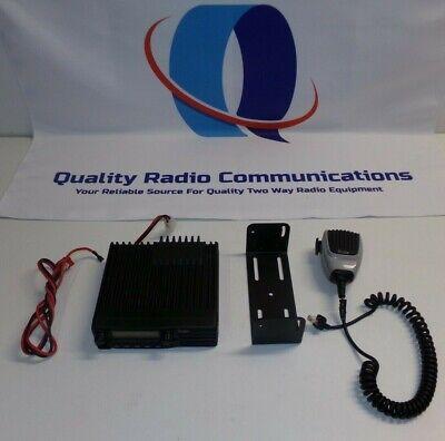 Icom Ic-f1721d P25 Digital 136-174 Mhz Vhf 50 Watt Two Way Radio W Mic Bracket