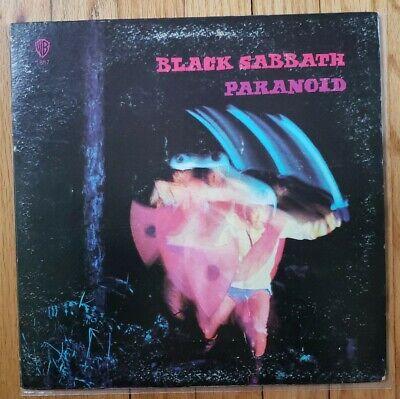BLACK SABBATH - PARANOID LP VINYL WS 1887 WB RP SEE DISCOGS INFO** IN PICS VG+