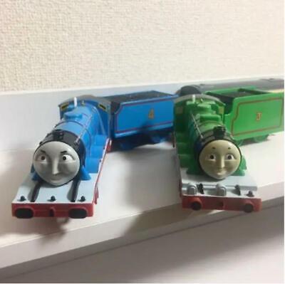Plarail Thomas & Friends Gordon Henry Trackmaster Train Rare Working Condition