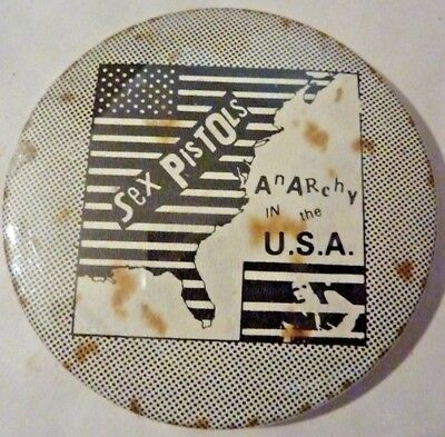 "SEX PISTOLS"" ANARCHY IN THE U.S.A. BADGE 2 ¼"