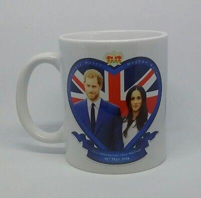Prince Harry & Megan Markle mug Royal family Queen 19th may 2018