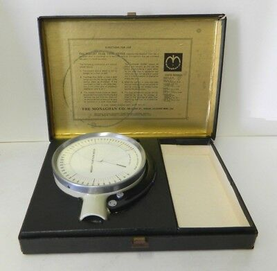 Airmed Limited Wright Respiratory Peak Air Flow Meter W6579 W Case