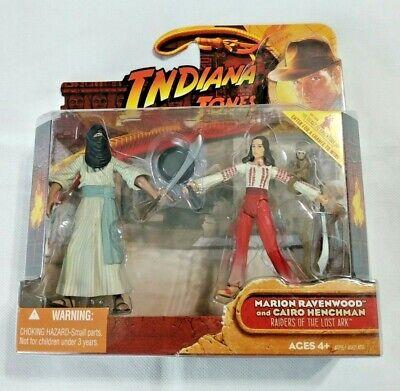 """Indiana Jones: Marion Ravenwood & Cairo Henchman 3.75"""" Action Figure 2-Pack 2008"""