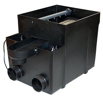 Trommelfilter incl. Amalgam UVC, Steuerung und Spülpumpe bis 50000 Liter Teiche