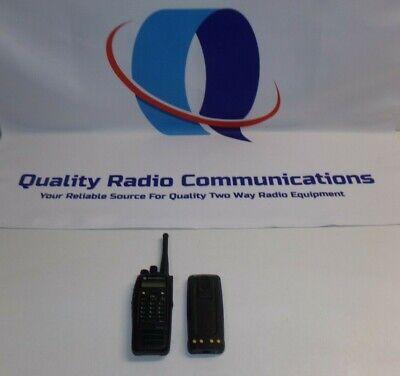 Motorola Mototrbo Xpr6550 450-512 Mhz Uhf Two Way Radio W Connect Plus Trunking