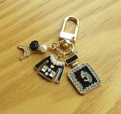 Luxury key chain bag charm  French style very cute