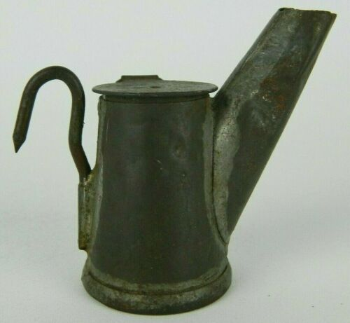 Antique Star Grier Bros Miners Teapot Spout Lamp Mining Lantern Pittsburgh PA