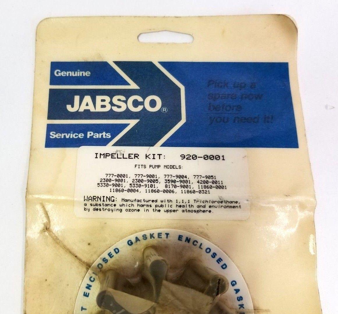 Jabsco 920-0001, Impeller Kit