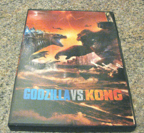 Godzilla vs Kong (DVD 2021) Lots of great special effects-Pre-order