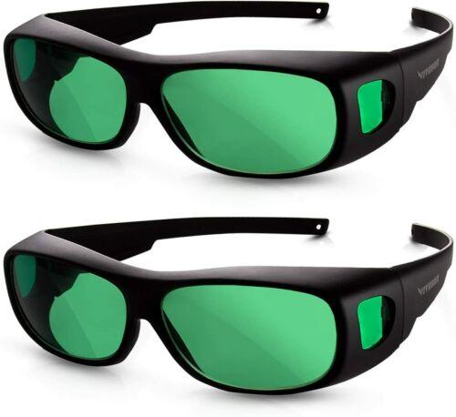 VIVOSUN 2Packs Indoor Hydroponics LED Grow Light Room Tent Glasses Goggles US