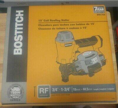 Bostitch Brn175a 15 Degree Coil Roofing Nailer Brand New Cdn Seller