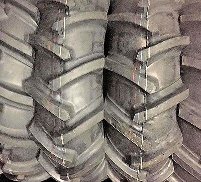2tires 11.2x24 Tractor Tires 4ply Tubetype Heavy Duty R1 Tires