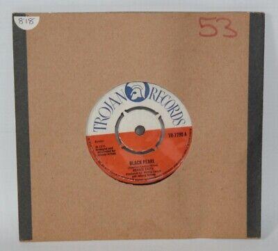 """Horace Faith – Black Pearl - 1970 Vinyl 7"""" Single - Trojan TR-7790"""