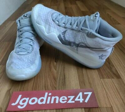 Nike Zoom KD12 NRG Yin Yang Size 10.5 Mens CK1195-101 Basketball Shoes Wolf Grey