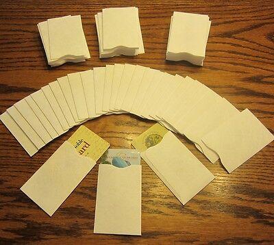 500 Tyvek Credit Debit Card Protector Holder Sleeve Envelopes Atm Id Gift Card
