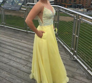 Prom Dress with pockets $350 OBO