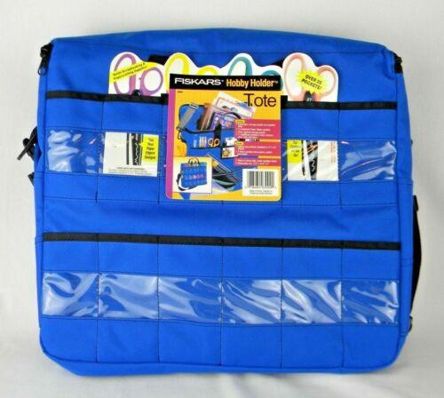 Fiskars Canvas Craft Organizer Tote Bag Scrapbook Quilting Crochet Zip Brand New