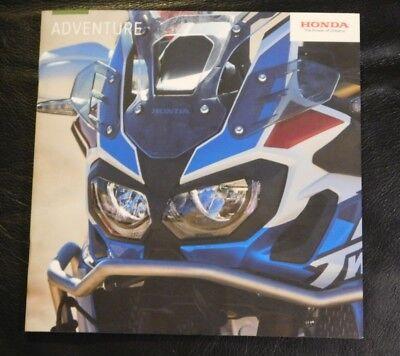 Honda Adventure Brochure 2018 - Africa Twin CRF VFR800/1200X X-ADV NC750X CB500X