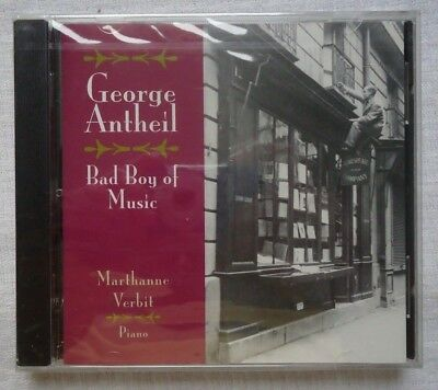 George Antheil  Bad Boy Of Music  Cd  Apr 1995  Albany Music Distribution  New