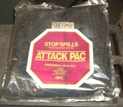 SPC ATTACK PAC EMERGENCY OIL SPILL CLEAN UP KIT (LL2)