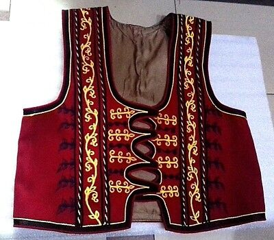 NEW-ALBANIAN-KOSOVA-TRADITIONAL-POPULAR-FOLK-COSTUME-WAIST-COAT-XHAMADAN-MEN-BOY (Popular Costumes For Men)