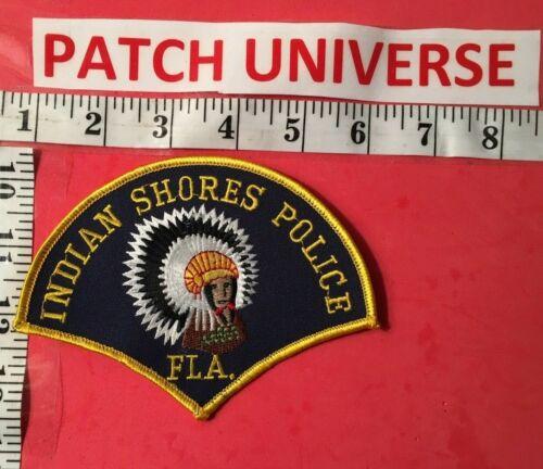 VINTAGE INDIAN SPRINGS FLORIDA POLICE SHOULDER PATCH  M016