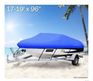 Boat Cover 17 - 19ft All Weather Boat Cover