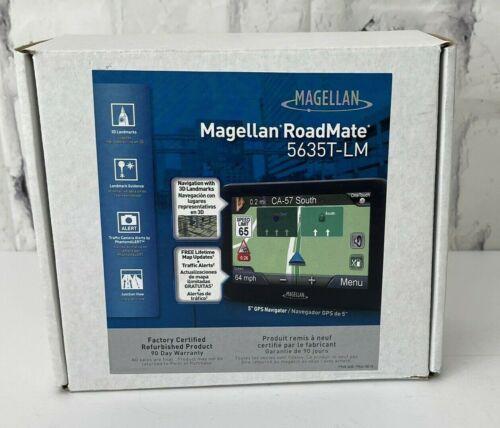 """Magellan Road Mate 5635T-LM GPS Navigator - 5"""" Display"""