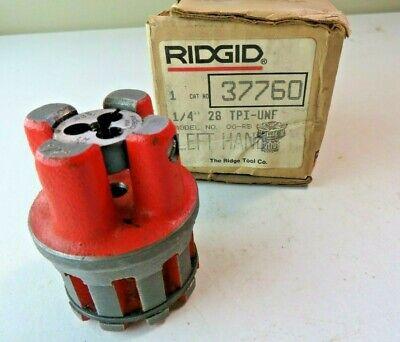 Ridgid 37760 14-28unf Lh Bolt Die Head Complete Model 00-rb New