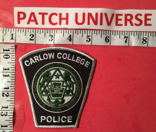 CARLOW COLLEGE PITTSBURGH PENN POLICE  SHOULDER PATCH   T016