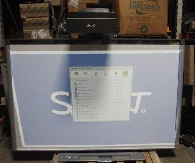 Smart Ux80 Ultra Short Throw Projector W Interactive Smart Board Wall Mount