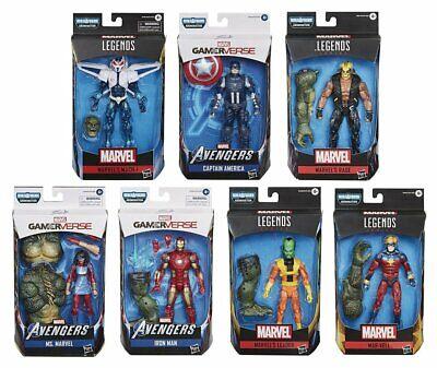 Avengers Marvel Legends Gamerverse Wave Set of 7 Action Figures Abomination BAF