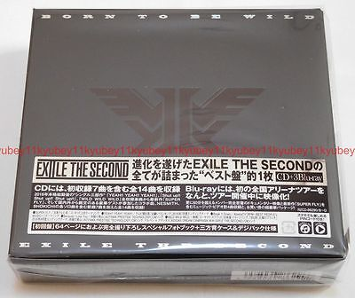 EXILE THE SECOND BORN TO BE WILD Limited Edition CD 3 Blu-ray Photobook (Exile The Second Born To Be Wild)
